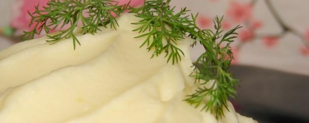 Картофельное пюре с молоком и яйцом