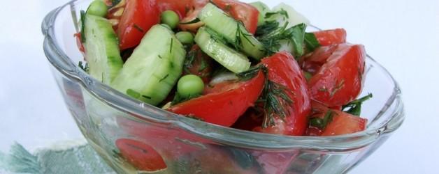 Овощной салат рецепт с фото