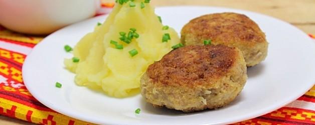 Котлеты из свинины с картофелем. Как приготовить котлеты из свинины рецепт с фото