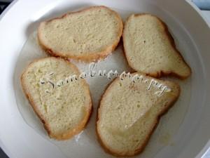 французские гренки