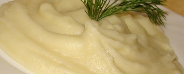 Пюре картофельное. Как приготовить пюре рецепт с фото