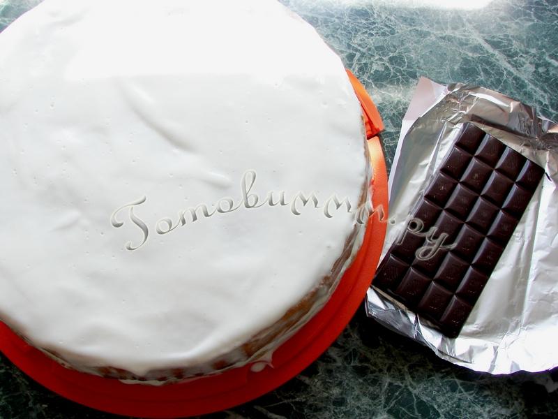Бисквитный торт со сметанным кремом рецепт