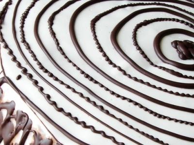 Бисквитный торт со сметанным кремом «Спираль»