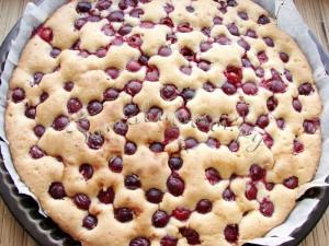 Пирог с вишней рецепт с фото