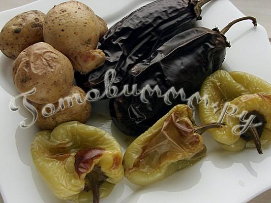 Овощной салат «Осенний» рецепт с фото