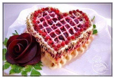 Салаты праздничные: Салат Любовница
