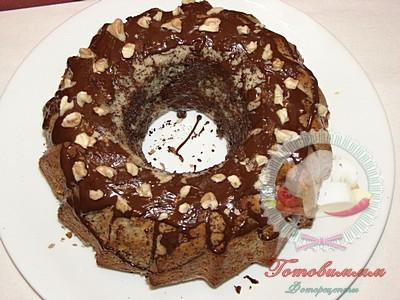 Кекс проще простого с маком и шоколадом