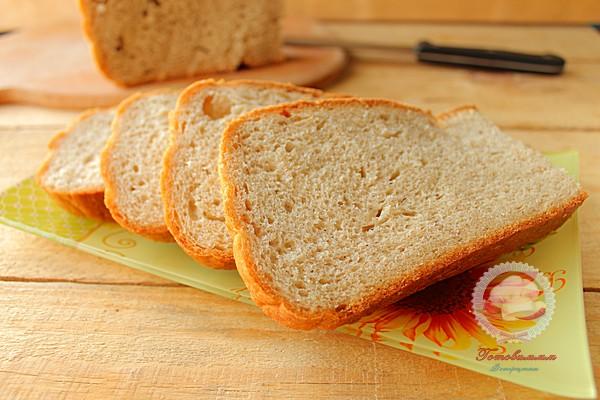 Хлеб в мультиварке из трех видов муки