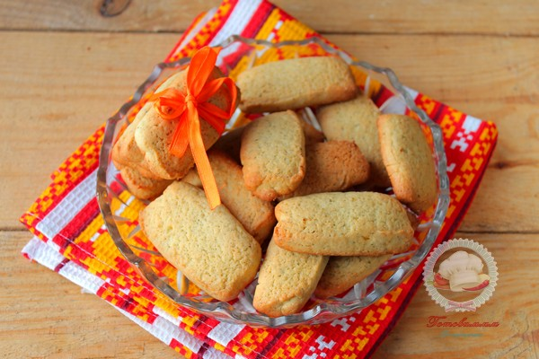 Песочное печенье с мятой рассыпчатое и ароматное